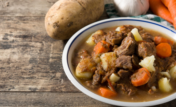Slow-Cooked Lamb, Sweet Potato and Almond Curry