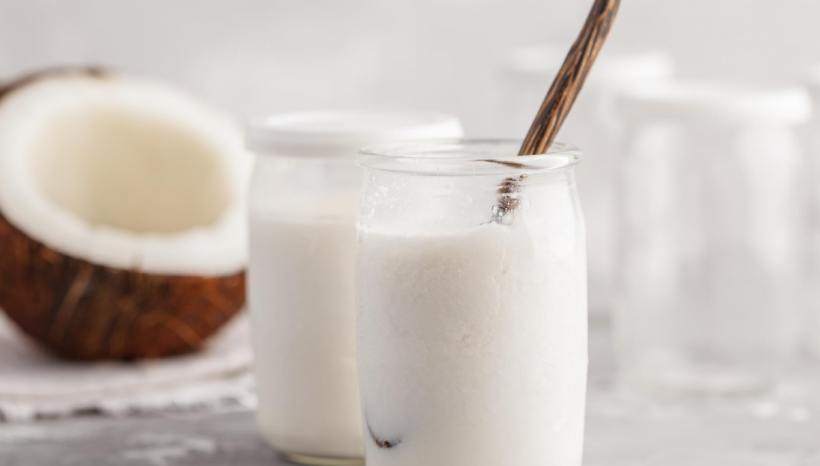 Easy Coconut Yogurt