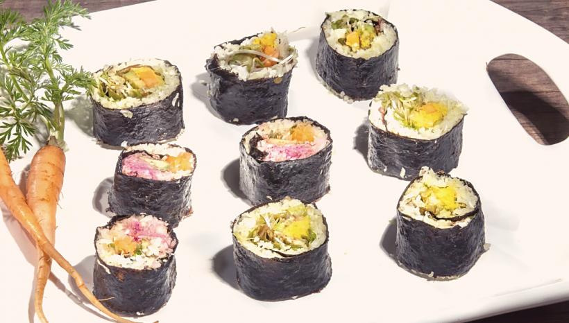 Paleo Sushi Rolls