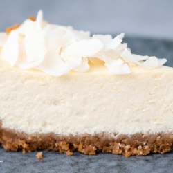 Raw Lemon Cheesecake Slice