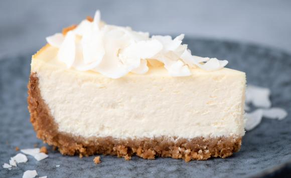 Raw Lemon Cheesecake Slice