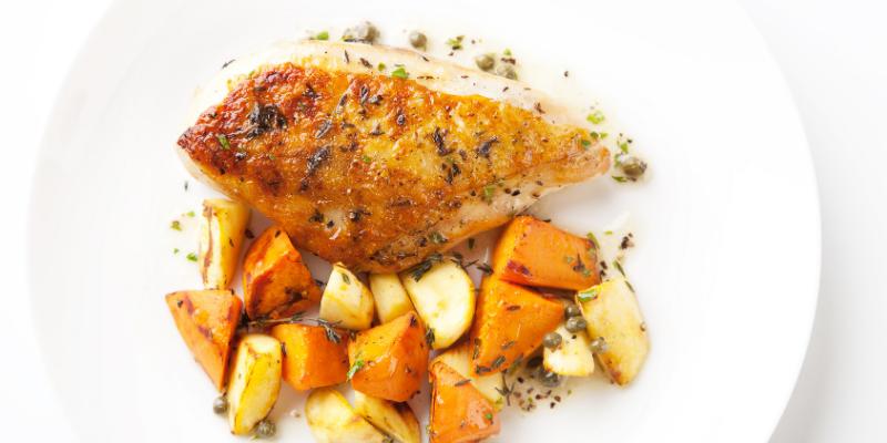One-Dish Paleo Chicken Dinner