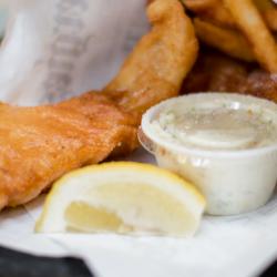 Paleo Fried Seafood Platter