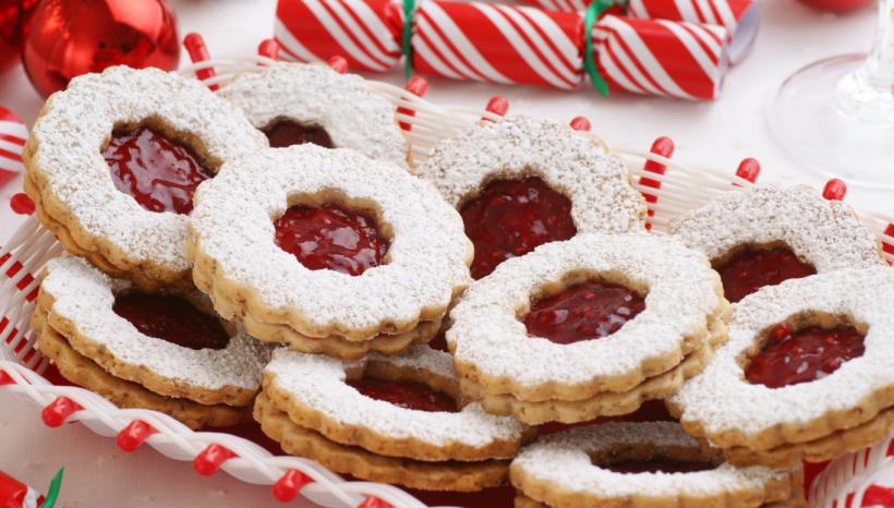 Linzer Torte Biscuits AIP