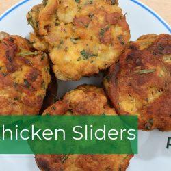 Green Chicken Sliders